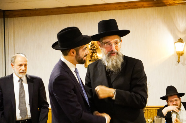 Rav Dovid Harris and Rabbi Moshe Winter