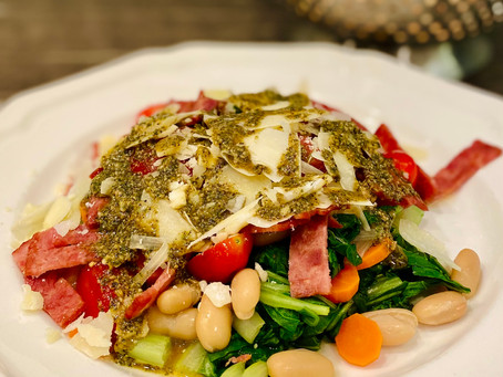 Bok Choy Salad with Turkey Bacon