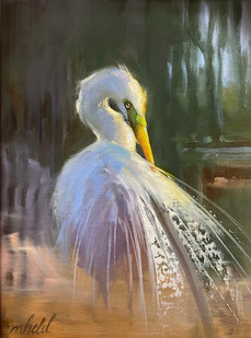 """""""The Glorious Gown"""" Oil on Canvas 9"""" x 12"""""""