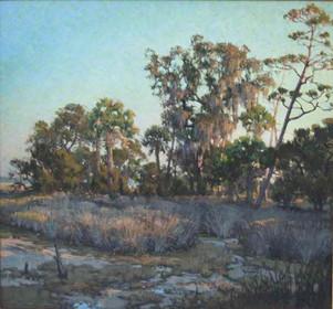 """Diamondback Flats (Palmetto Bluff)""  Oil on Canvas  28"" x 30"""