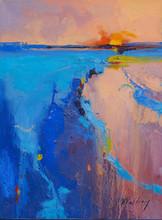 """""""Sun Rise"""" Oil on Canvas 16"""" x 12"""""""