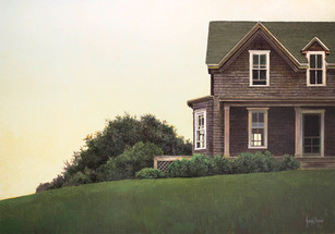 """Summer House"" #14098 Acrylic on Panel 14"" x 20"""