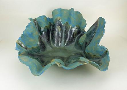 """""""Mer Calme"""" MA-1598 High Fire Stoneware Clay 8.5""""h x 20.5""""w"""