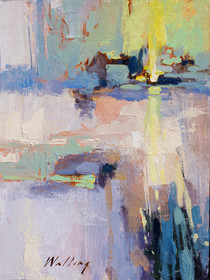 """Fresh Day"" Oil on Canvas 12"" x 9"""