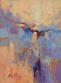 """Lavender Dawn"" Study Oil on Canvas 12"" x 9"""