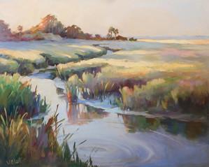 """Saltcreek"" Oil on Canvas 24"" x 30"""