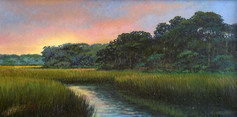 """""""Whispered Peace"""" Oil on Canvas 12"""" x 24"""""""