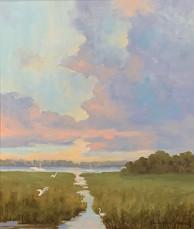 """""""Morning Has Broken"""" Oil on Canvas 24"""" x 20"""""""
