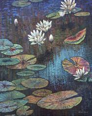 """Brahman Awakes"" Oil on Canvas 30"" x 24"""