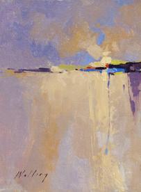 """Golden Dawn"" Study Oil on Canvas 12"" x 9"""