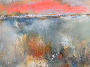 """""""Edge of Today"""" Mixed Media on Canvas 36"""" x 48"""""""