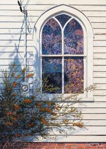 """Sunday Morning"" #15101 Acrylic on Linen 40"" x 32"""