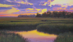 """""""Late Afternoon"""" #13081 Oil on Linen 36"""" x 52"""""""