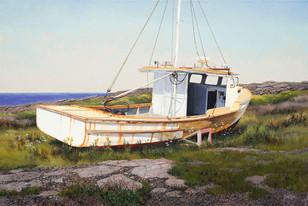 """""""Overhaul, Digby, Nova Scotia"""" #13088 Acrylic on Linen 20"""" x 30"""""""