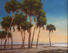 """""""Morning Comes"""" Oil on Canvas 24"""" x 30"""""""