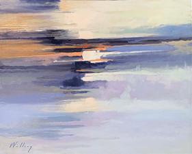 """Dancing Light III"" Oil on Canvas 24"" x 30"""