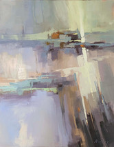 """Dancing Light II"" Oil on Canvas 30"" x 24"""