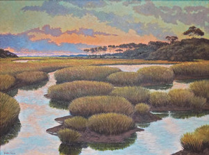 """Fripp Farewell"" Oil on Canvas 30"" x 40"""