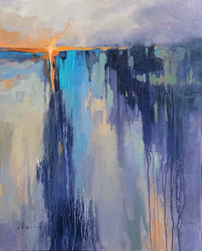 """New Light"" Oil on Canvas 30"" x 24"""