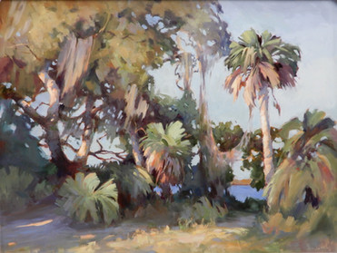 """SOLD """"Cumberland Island"""" Oil on Canvas 30"""" x 40"""