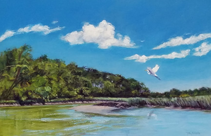 """""""A Clear Day"""" Oil on Linen 20"""" x 30"""""""