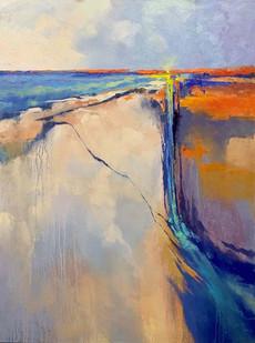 """New Dawn"" Oil on Canvas 48"" x 36"""
