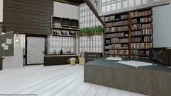 Grayish apartment 02