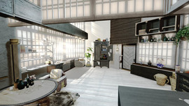 Grayish apartment 03