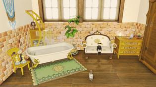 Cream yellow room 02