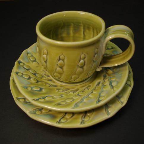 Mug & 2 Plates