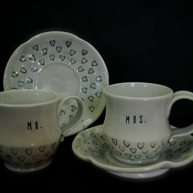 Mr. & Mrs. Tea Set