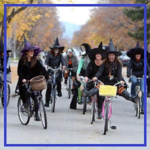 Witches Ride & Walk - Downtown Oxford