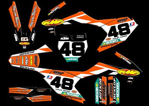KTM 65 Dungy / Kit / Black (2016-2020)