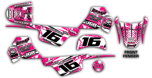 PW-50 Pink Graphics Kit 2