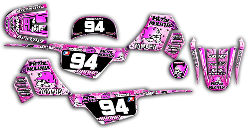 PW-50 Pink MM Graphics Kit