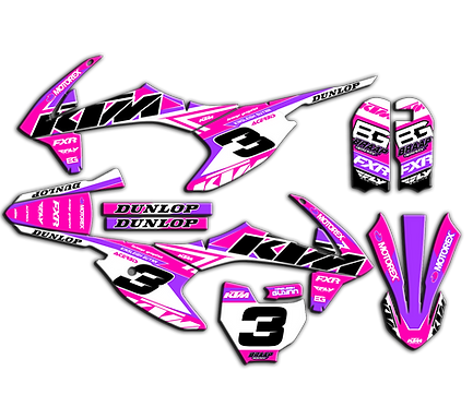 KTM 50  / FMF Pink/Purple (2016-2020)