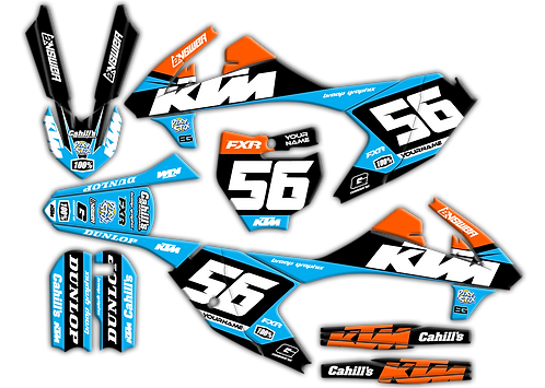 KTM 65  / Baby Blue / Black (2016-2020)
