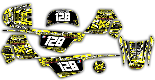 PW-50 Yellow RS Graphics Kit