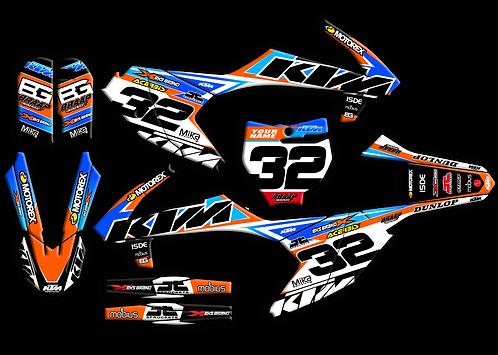 KTM 65 Stretch / Kit / Black (2016-2020)