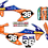 Thumbnail: KTM 50  / FMF Blue/Orange (2016-2020)