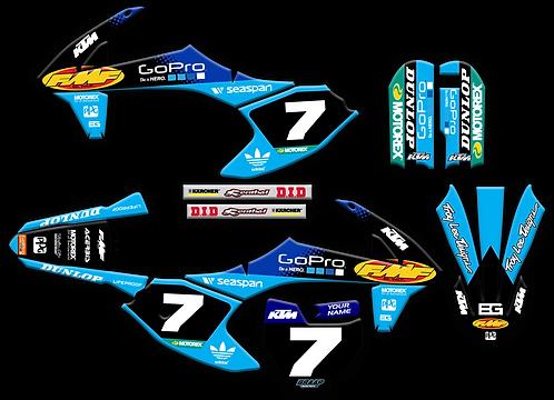 KTM 50  / FMF Blue (2016-2020)
