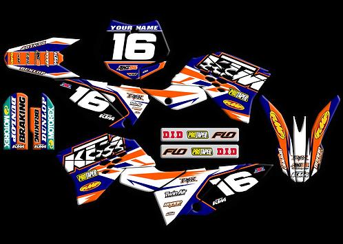 KTM 65  / Blue /Orange (2009-2015)