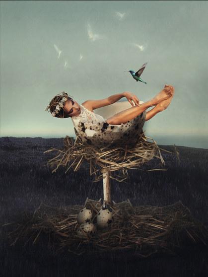 """Nesting in spirit"" photography by Pauli studio8x8.com Tenerife"