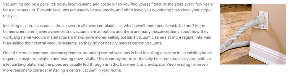 Vacuum Introduction
