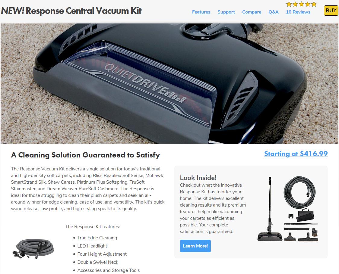 Response Vac Kits