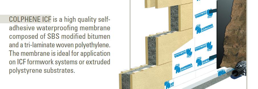 Colphene ICF Waterproofing