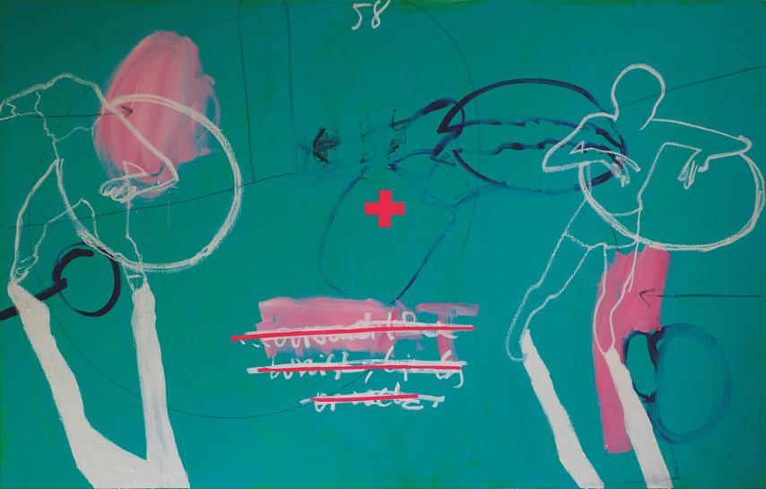 Hula Hoop, 155 x 100 cm