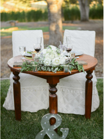 One of my favorite Sweethearts tables