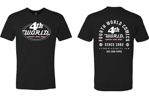 Official 4th World Comics & Toys T-Shirt