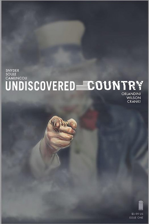 Undiscovered Country #1 Exclusive Variant Cover